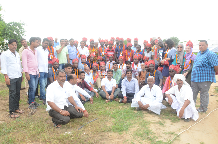 African Delegation Visits Hi-Tech Farm in Rajasthan