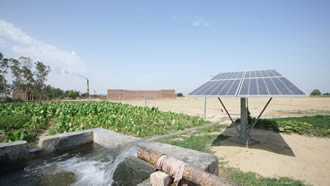 UP Government to offer solar pump at 70% subsidy