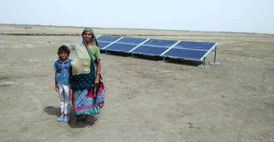Solar Pumps for Salt Farming