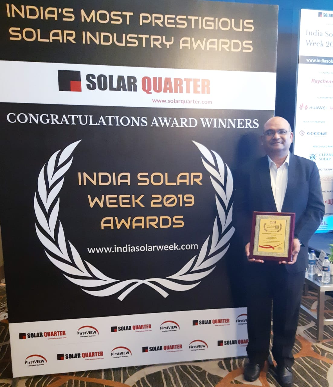Rotomag wins Solar Pump Manufacturer of the year award